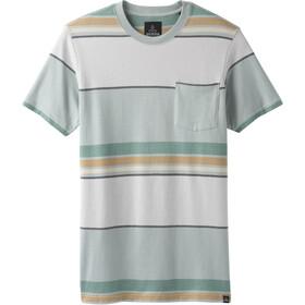 Prana Dominic T-shirt à col ras-du-cou Homme, agave